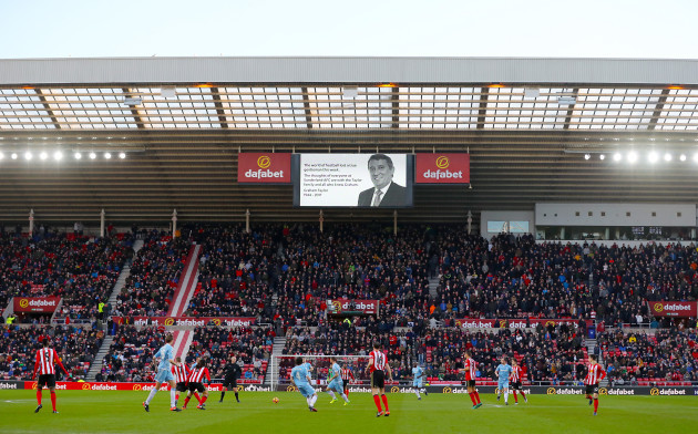Sunderland v Stoke City - Premier League - Stadium of Light