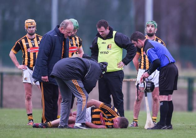 Michael Walsh injured