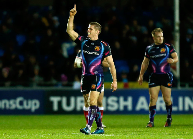Exeter Chiefs v Ulster Rugby - European Champions Cup - Pool Five - Sandy Park