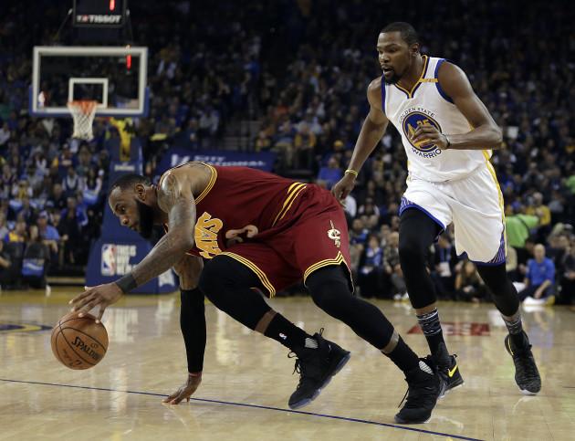 Cavaliers Warriors Basketball