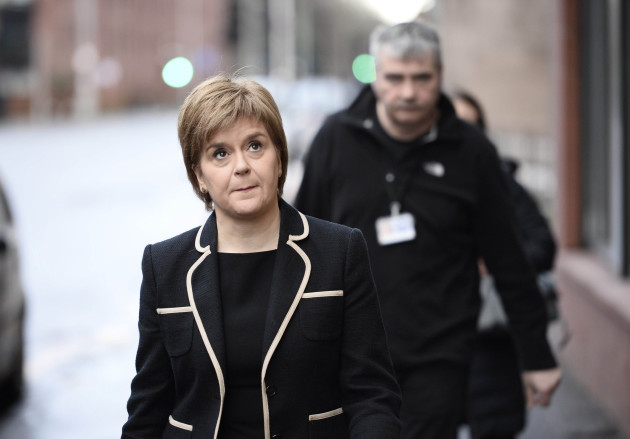 Sturgeon announces funding to tackle poverty