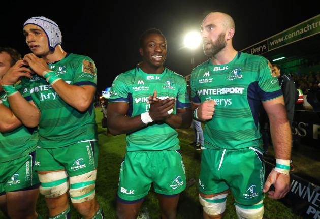 Niyi Adeolokun and John Muldoon