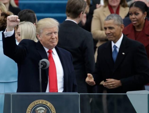 trump and ob