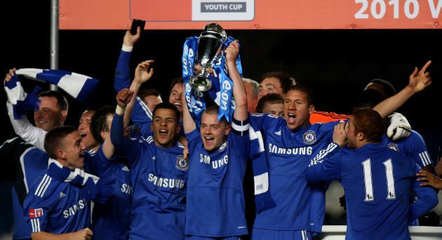 Soccer - FA Youth Cup - Final - Second Leg - Chelsea v Aston Villa - Stamford Bridge