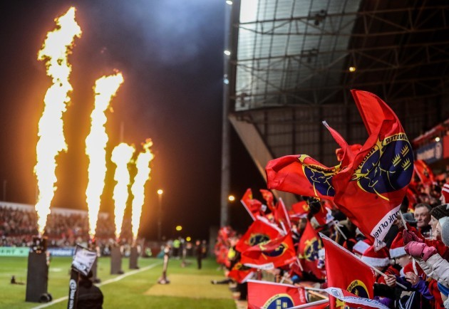 A view of Munster fans before the game 26/12//2016