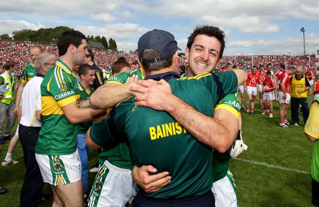 Jack O'Connor with Aidan O'Mahony