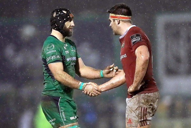 Billy Holland with John Muldoon