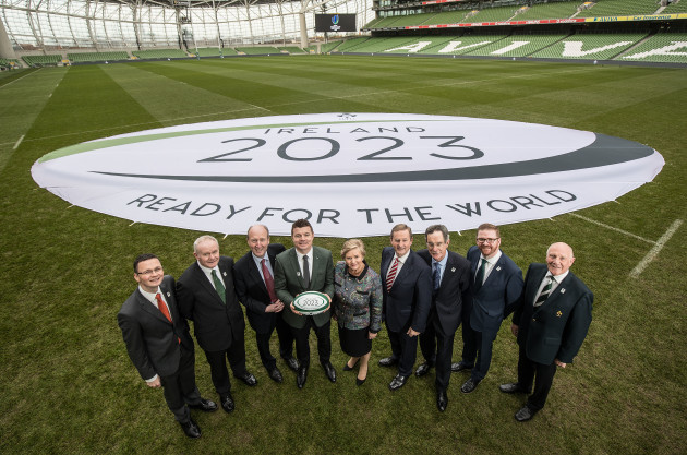 Bid Announcement for the 2023 Rugby World Cup