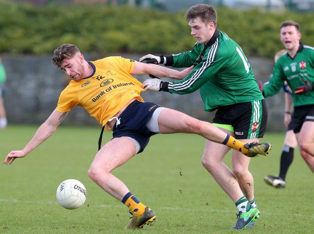 Ciaran O'Hanlon with Mark Plunket