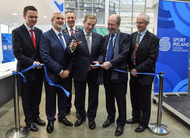 Opening of the Sport Ireland National Indoor Arena by An Taoiseach, Enda Kenny TD