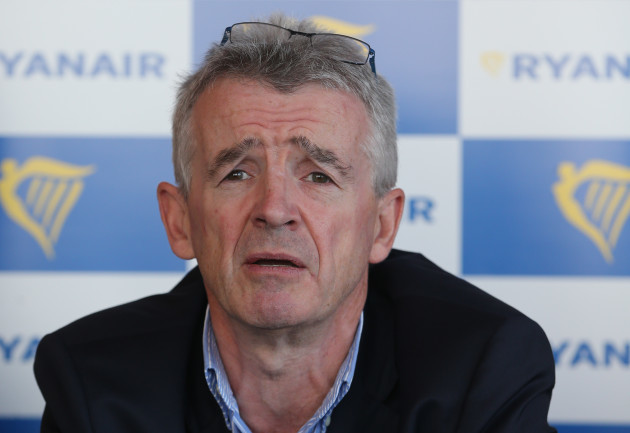 Ryanair press conference