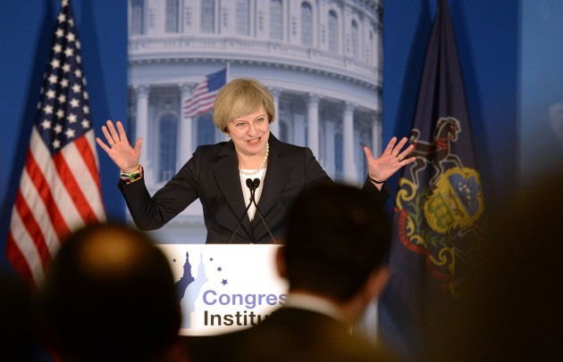 May visits US - Day One