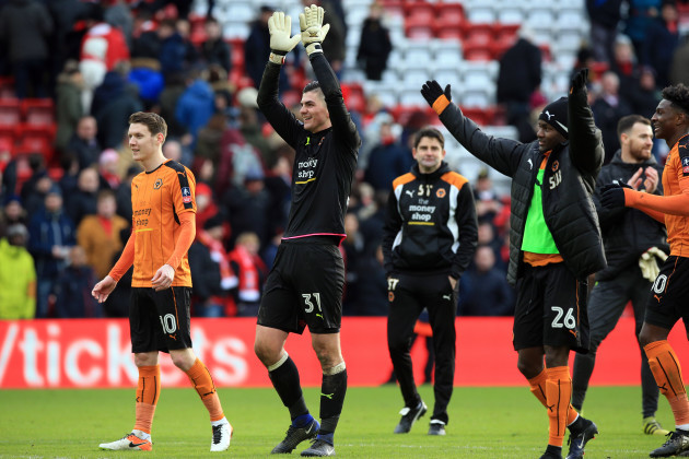 Liverpool v Wolverhampton Wanderers - Emirates FA Cup - Anfield