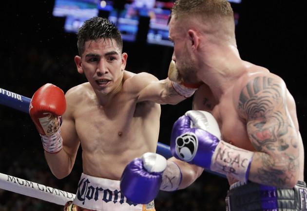 Frampton Santa Cruz Boxing