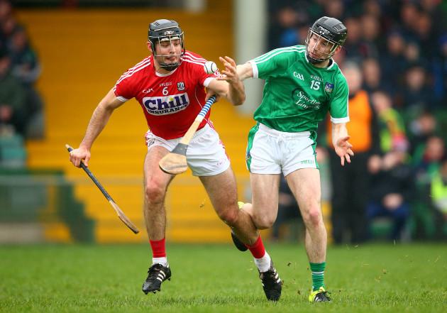 Graeme Mulcahy tackles Christopher Joyce