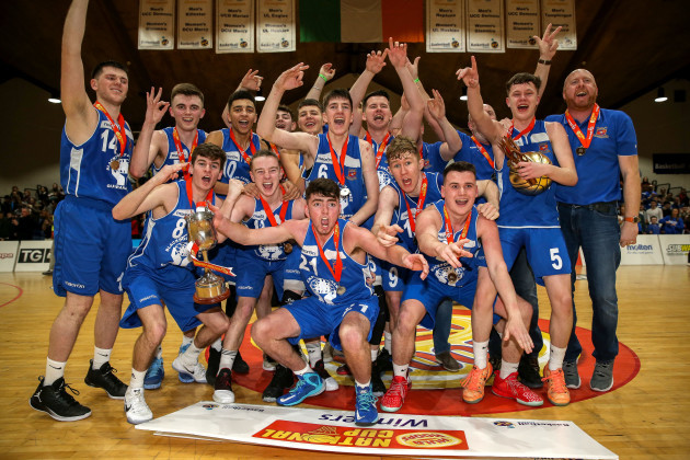 Neptune celebrate after the game