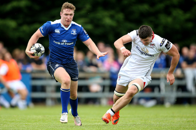 Rory O'Laughlin on the attack