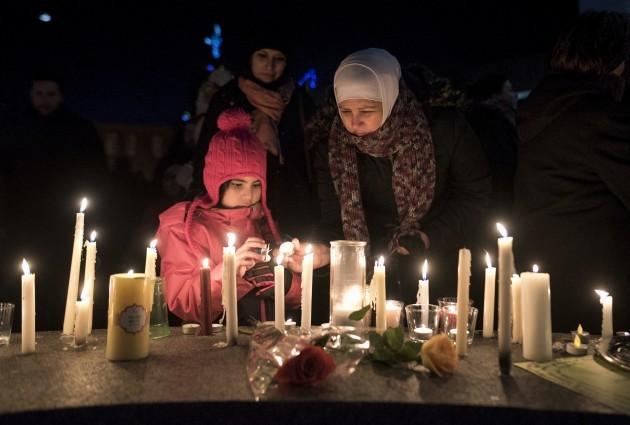 APTOPIX Canada Mosque Shooting