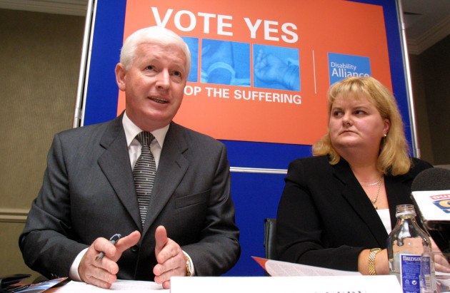 FRANK FLANNERY DISABILITY ALLIANCE SECOND NICE TREATY CAMPAIGN REFERENDUM IN IRELAND