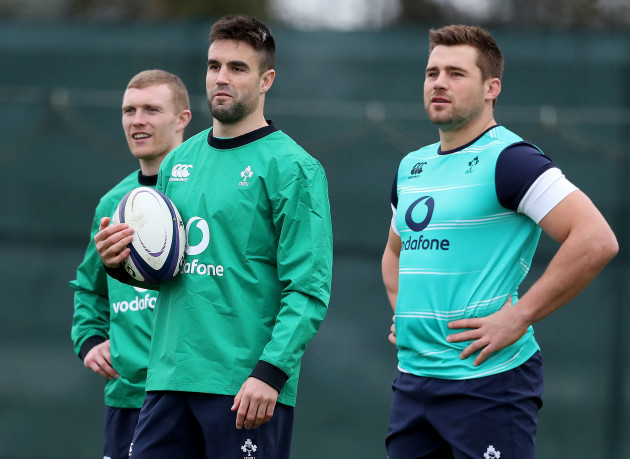 Conor Murray and CJ Stander