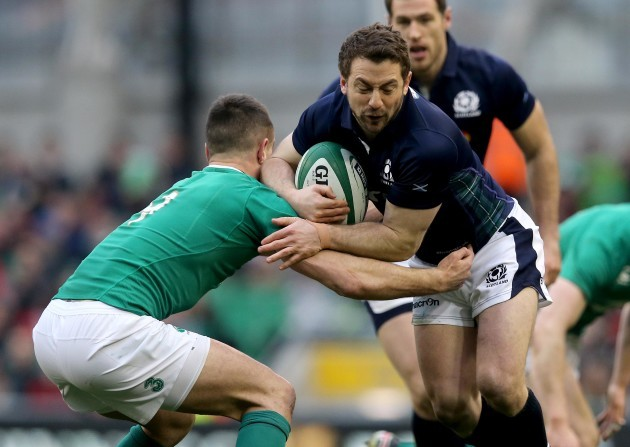 Conor Murray and Greig Laidlaw
