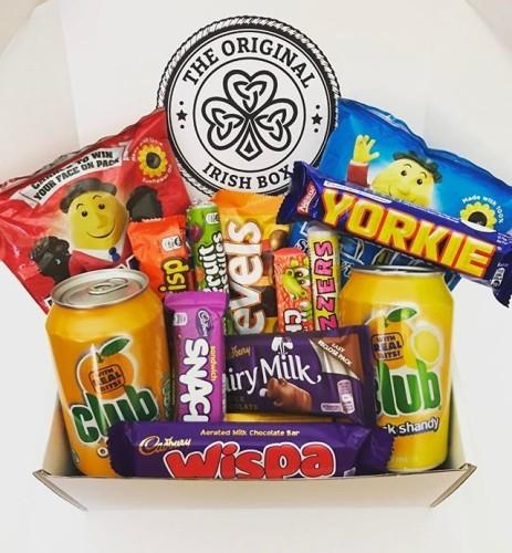 Tag a friend who would love this as a monthly subscription box #TheOriginalIrishBox #Irish #Ireland #IrishTreats #Eire #Subscription #SubscriptionBox #SubscriptionBoxAddict #Tayto #DairyMilk #Club #Cadbury #Candy