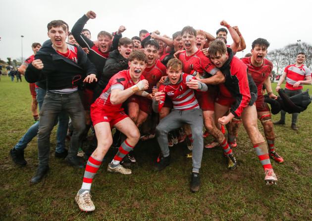Glenstal celebrate after the game