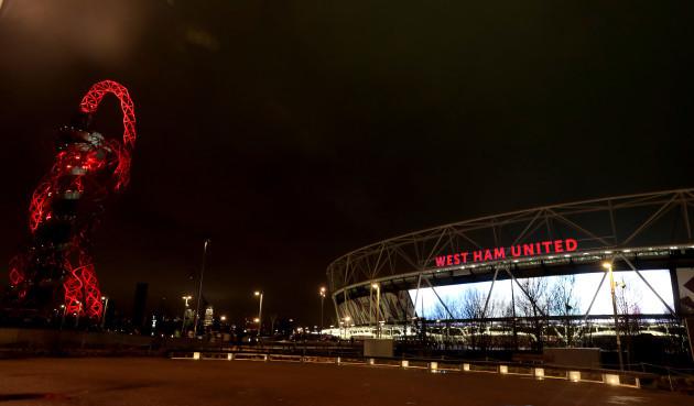 West Ham United v Manchester City - Premier League - London Stadium
