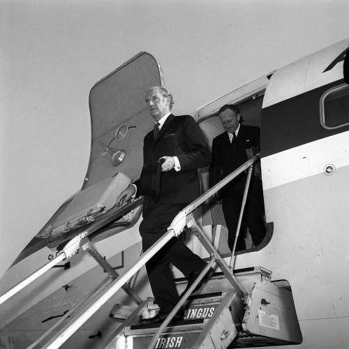 Irish PM Jack Lynch