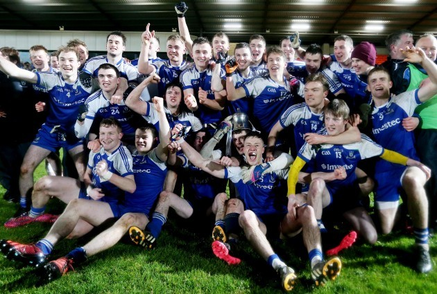 Monaghan celebrate winning