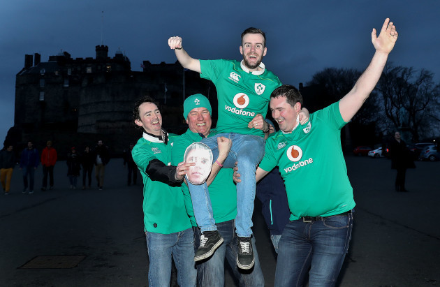 David O'Hara, Padraig McLoughlin, Anthony Curran and Sam Lestange from Mullingar