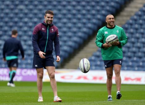 Conor Murray and Simon Zebo