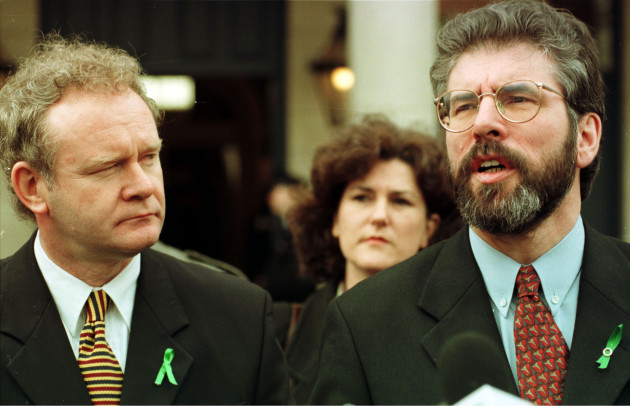 File Photo Last night Martin McGuinness retired from politics for health reasons. End.