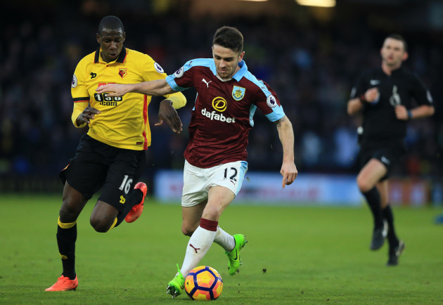 Watford v Burnley - Premier League - Vicarage Road