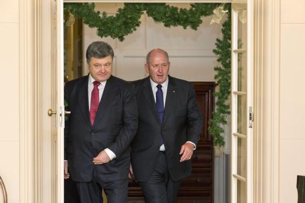 Australia Ukraine Poreshenko