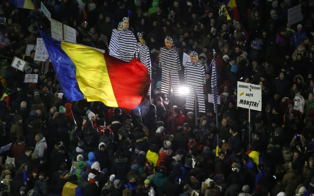 Romania Protest