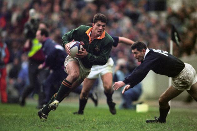 Rugby Union - Autumn International - Scotland v South Africa - Murrayfield, Edinburgh