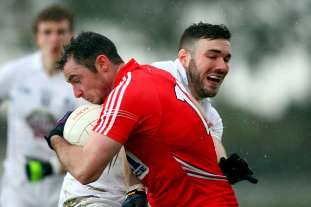 Donncha O'Connor and Fergal Conway