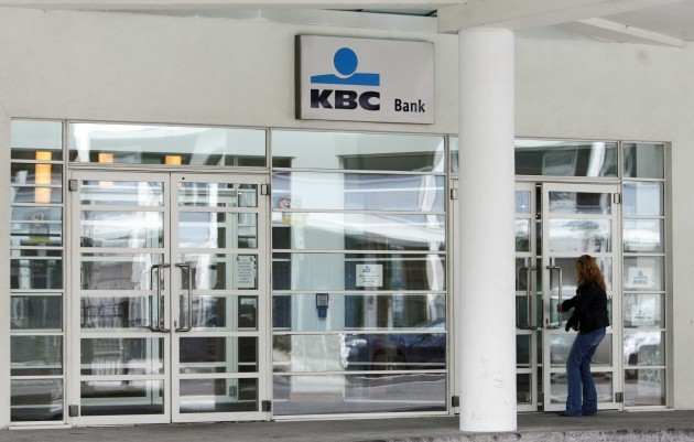 File Pics KBC Bank Ireland has reported a loss of 864 million for the year following loan impairment costs of 1.06 billion.