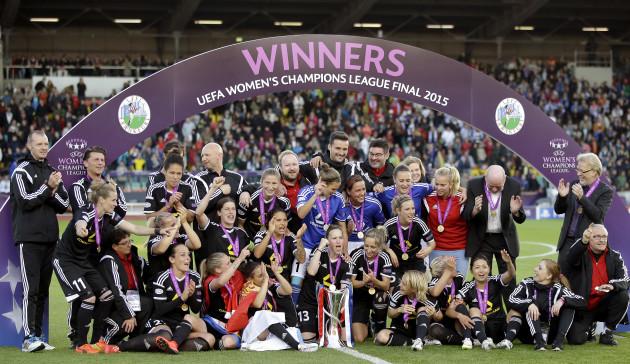 Germany Soccer Women Champions League