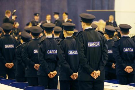 Garda Reserve graduation