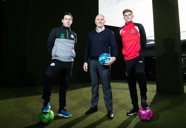 Stephen Bradley, Glen Killane and Sean Gannon