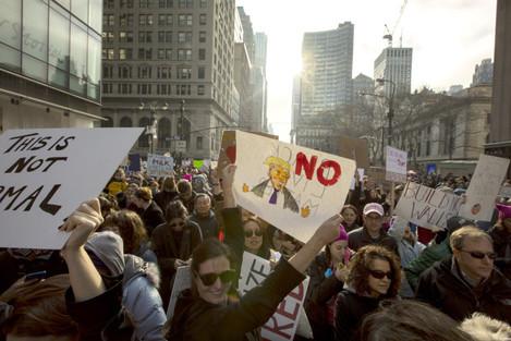 Trump Protests NYC