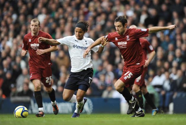 Soccer - FA Cup - Third Round - Tottenham Hotspur v Cheltenham Town - White Hart Lane