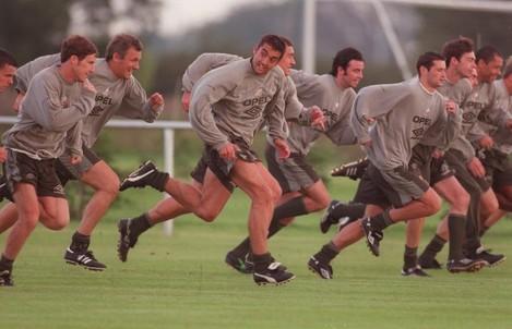 Jon Goodman Republic of Ireland Soccer Squad 1996