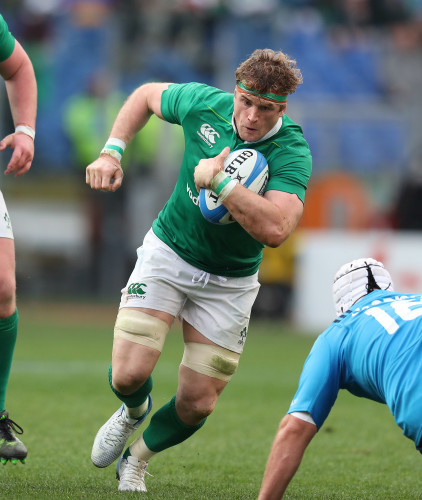 Ireland's Jamie Heaslip