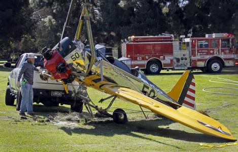 Harrison Ford-Plane Crash