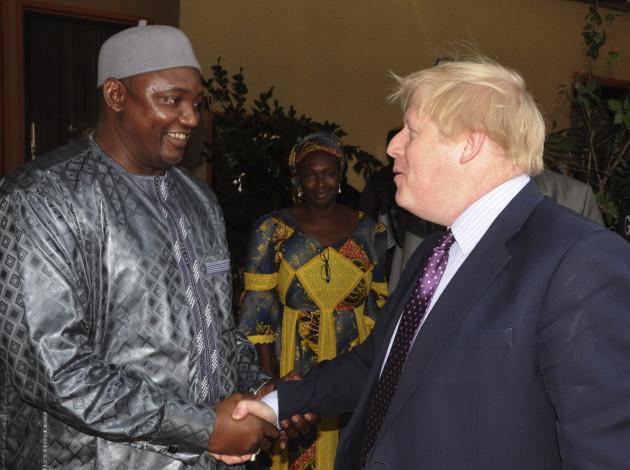 Gambia Britain