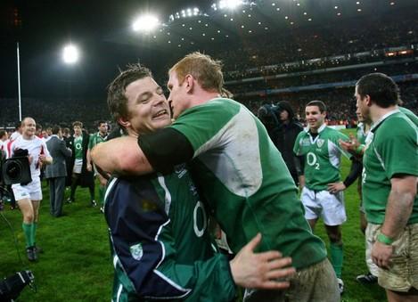 Brian O'Driscoll and Paul O'Connell