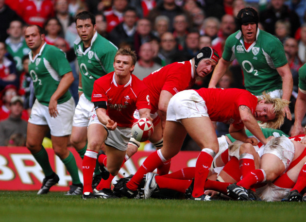 Rugby Union - RBS 6 Nations Championship 2007 - Wales v Ireland - Millennium Stadium